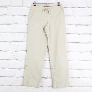 Eddie Bauer Tan Canvas Cotton Convertible Pants 2